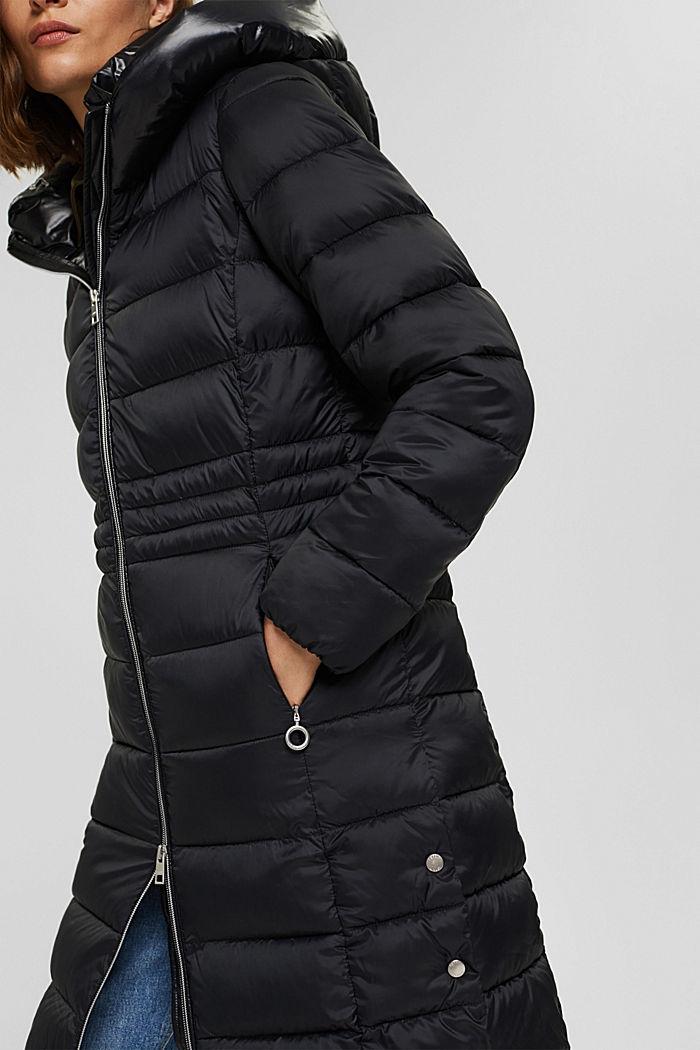 Reciclado: abrigo acolchado con Thinsulate 3M™, BLACK, detail image number 2