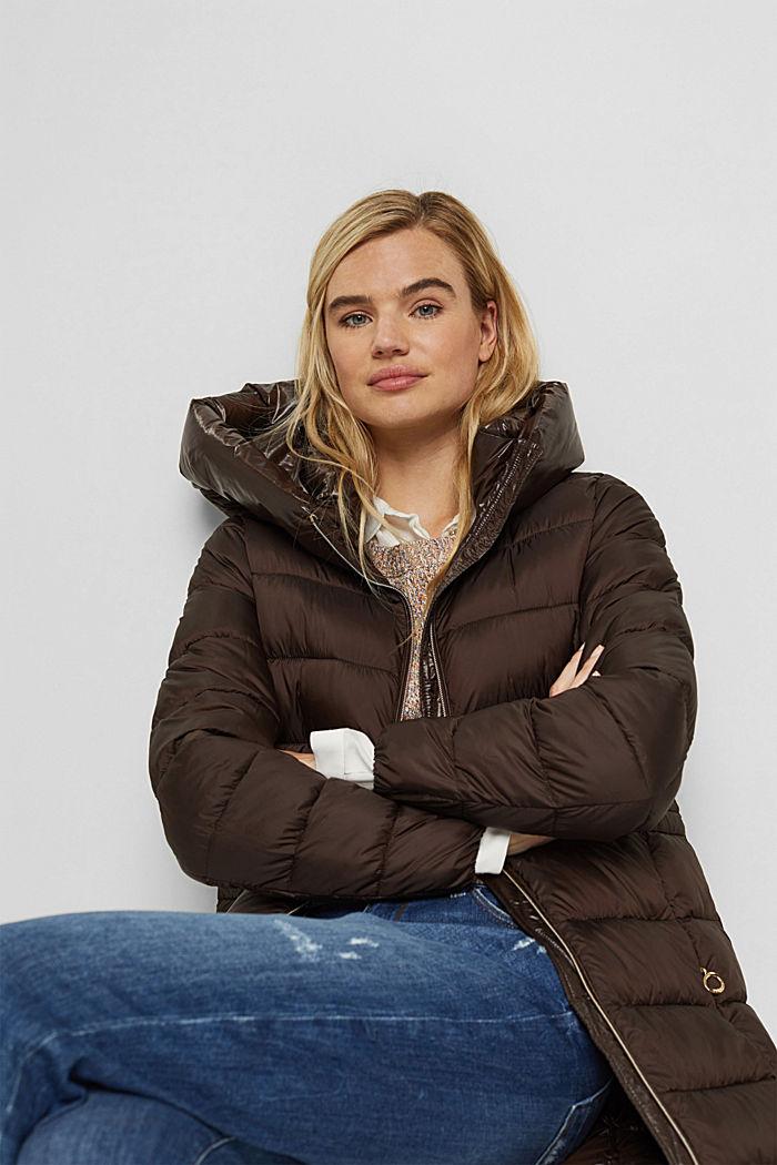 En matière recyclée: le manteau matelassé au rembourrage 3M™ Thinsulate