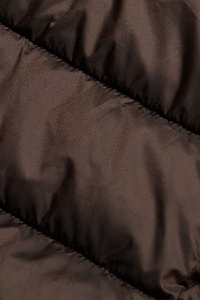 Recycled: quilted coat with 3M™ Thinsulate™, RUST BROWN, detail image number 4