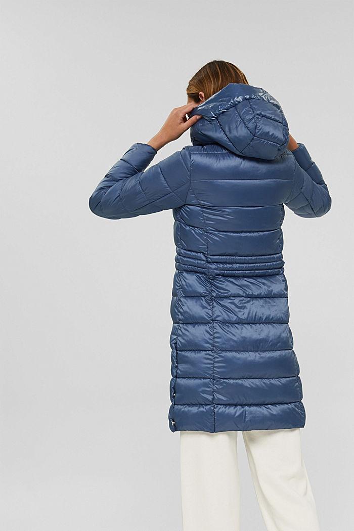 Reciclado: abrigo acolchado con Thinsulate 3M™, GREY BLUE, detail image number 3