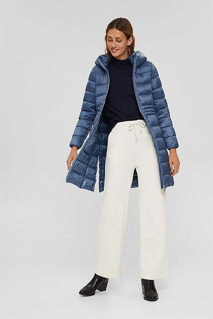 Reciclado: abrigo acolchado con Thinsulate 3M™, GREY BLUE, detail image number 1