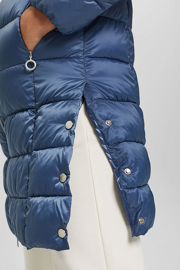 Reciclado: abrigo acolchado con Thinsulate 3M™, GREY BLUE, detail image number 2