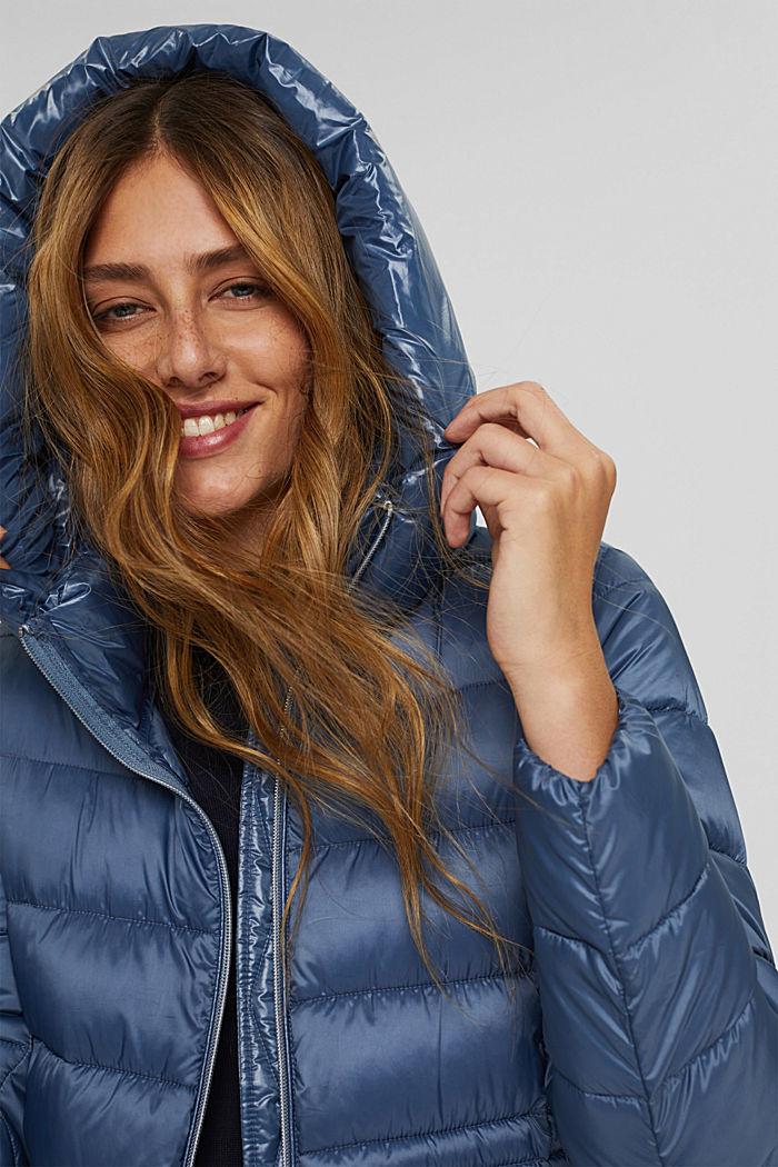 Reciclado: abrigo acolchado con Thinsulate 3M™, GREY BLUE, detail image number 6