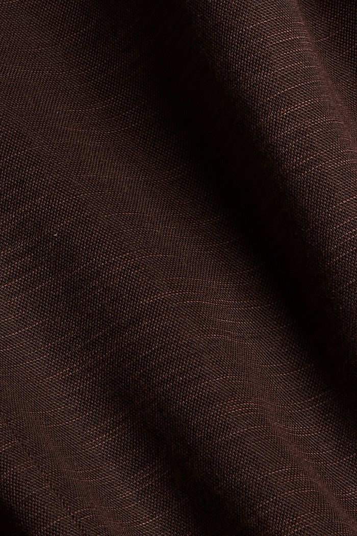 Double-breasted jersey blazer, RUST BROWN, detail image number 5