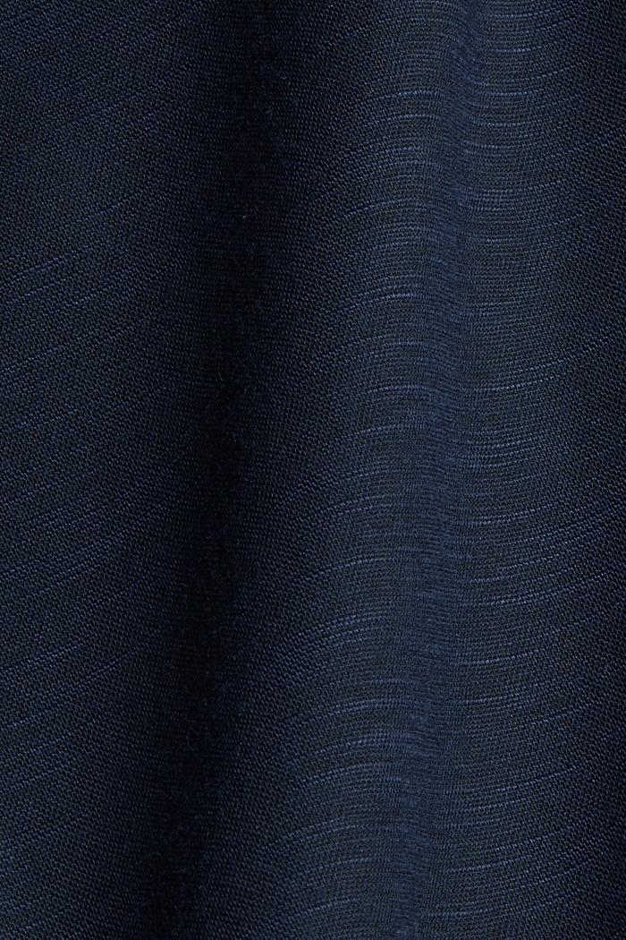 Zweireihiger Blazer aus Jersey, NAVY, detail image number 4