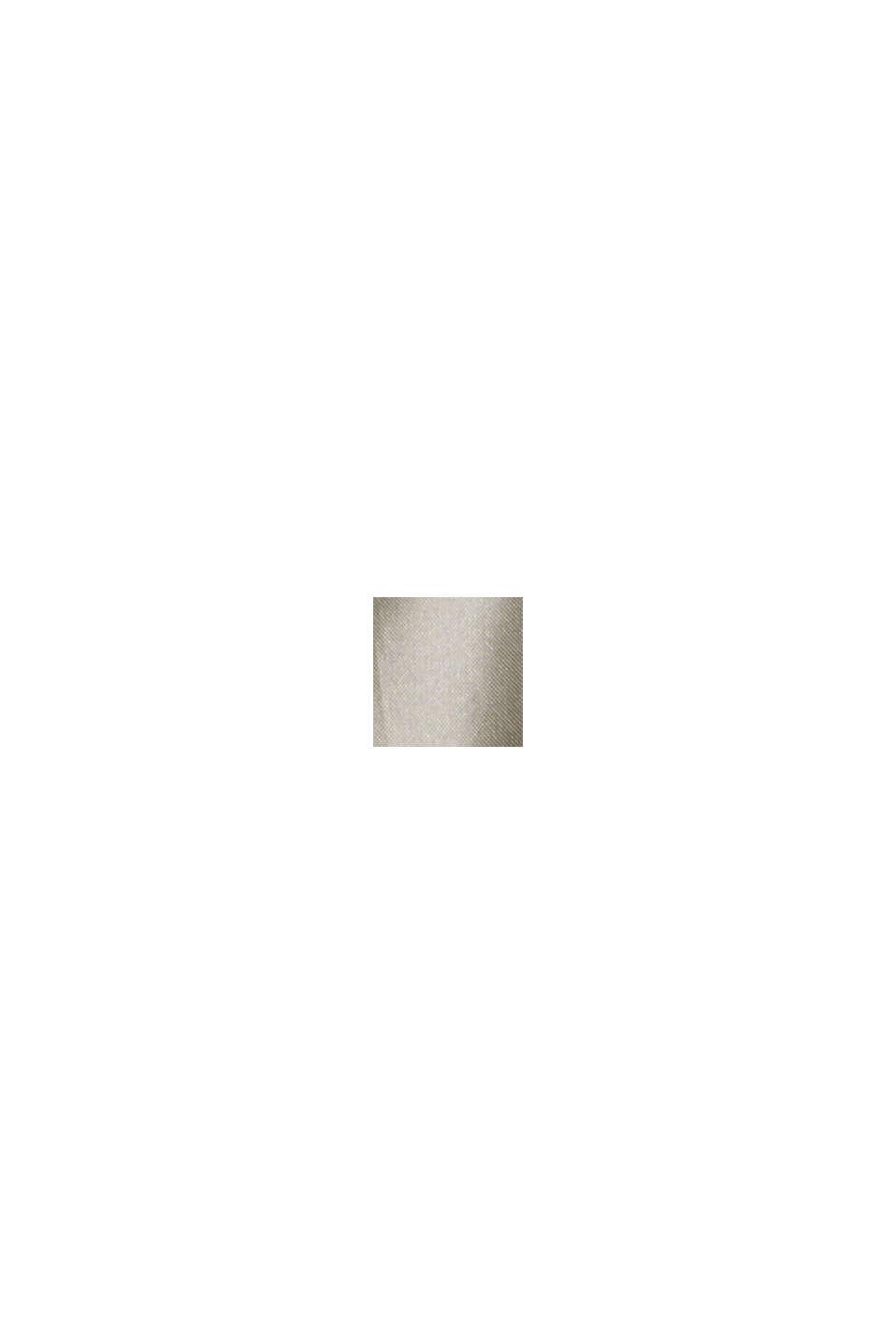 Reciclado: chaleco acolchado ligero con capucha, LIGHT GUNMETAL, swatch
