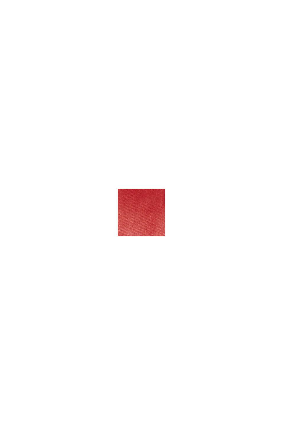 In materiale riciclato: gilet trapuntato leggero con cappuccio, DARK RED, swatch