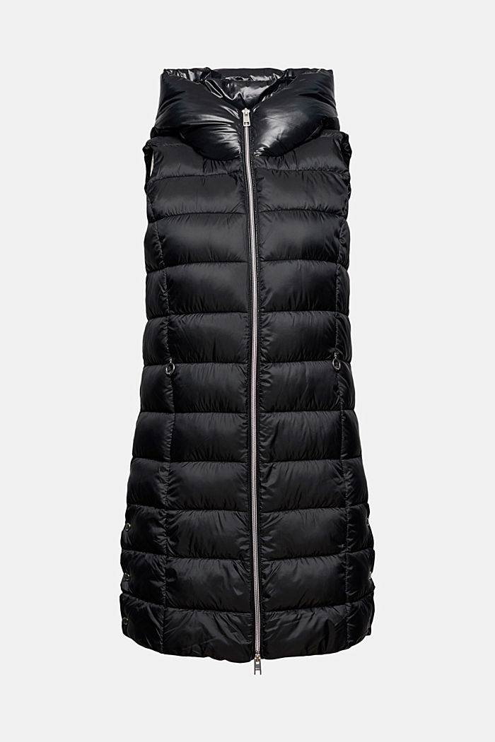 Recycled: long quilted body warmer 3M™ Thinsulate™