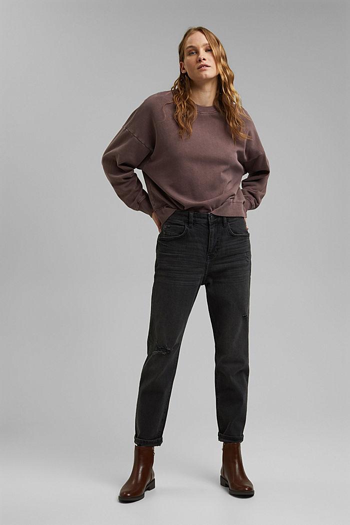 Sweatshirt van 100% biologisch katoen