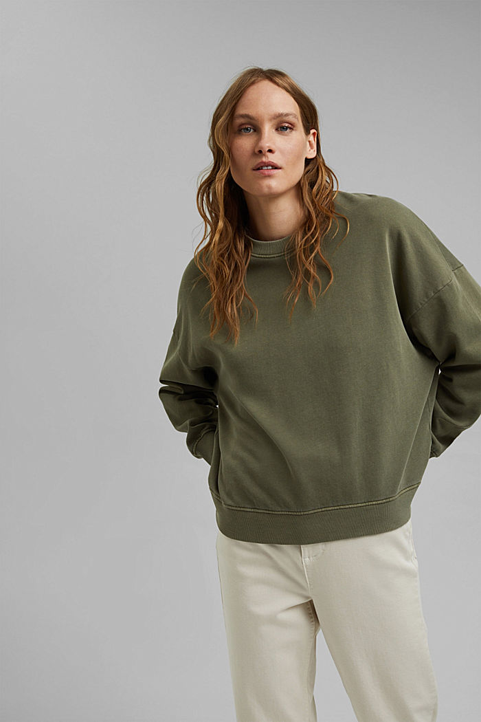 Sweatshirt made of 100% organic cotton