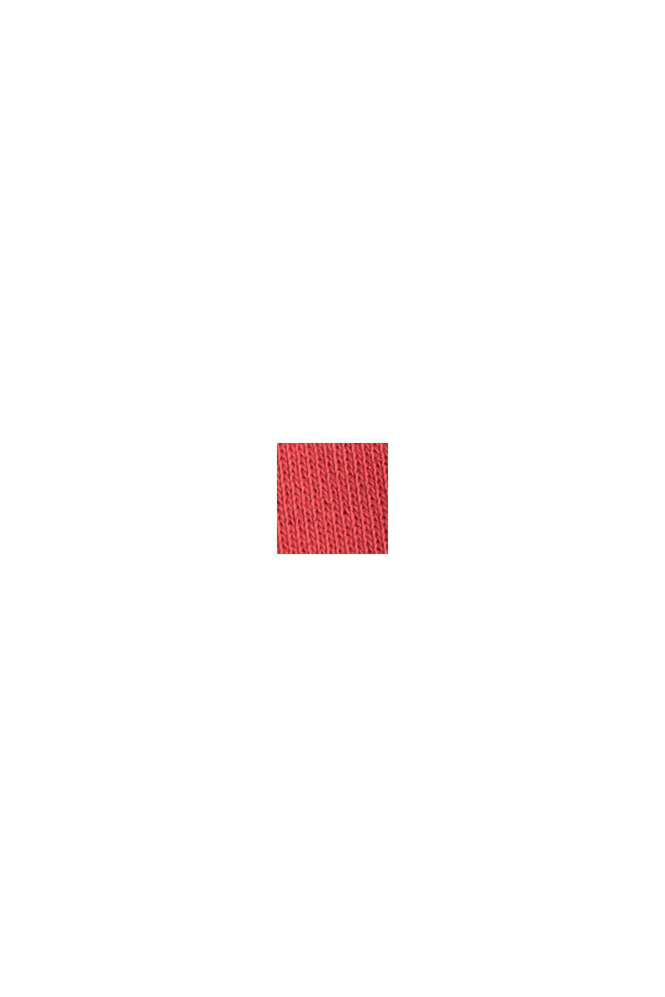 Sweat-shirt 100% coton biologique, RED, swatch