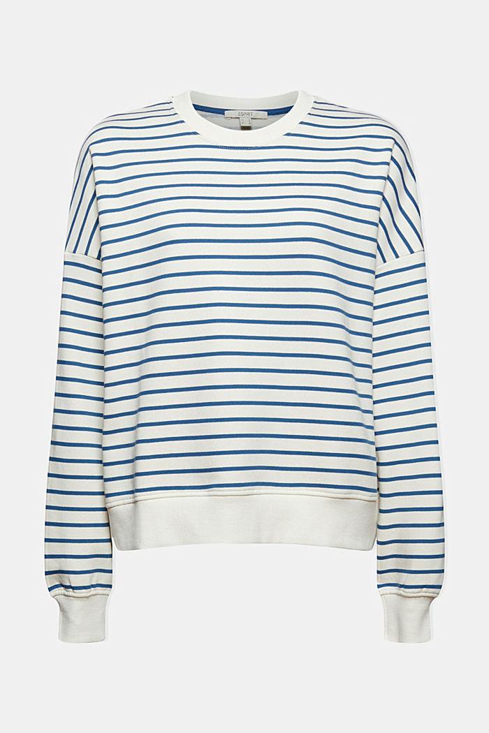 Gestreiftes Sweatshirt aus 100% Bio-Baumwolle