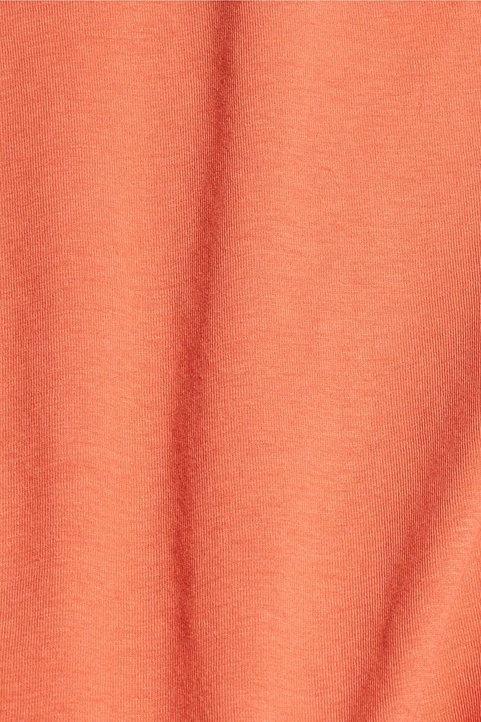 Koszulka z brokatowym nadrukiem z bawełny, BLUSH, detail image number 4