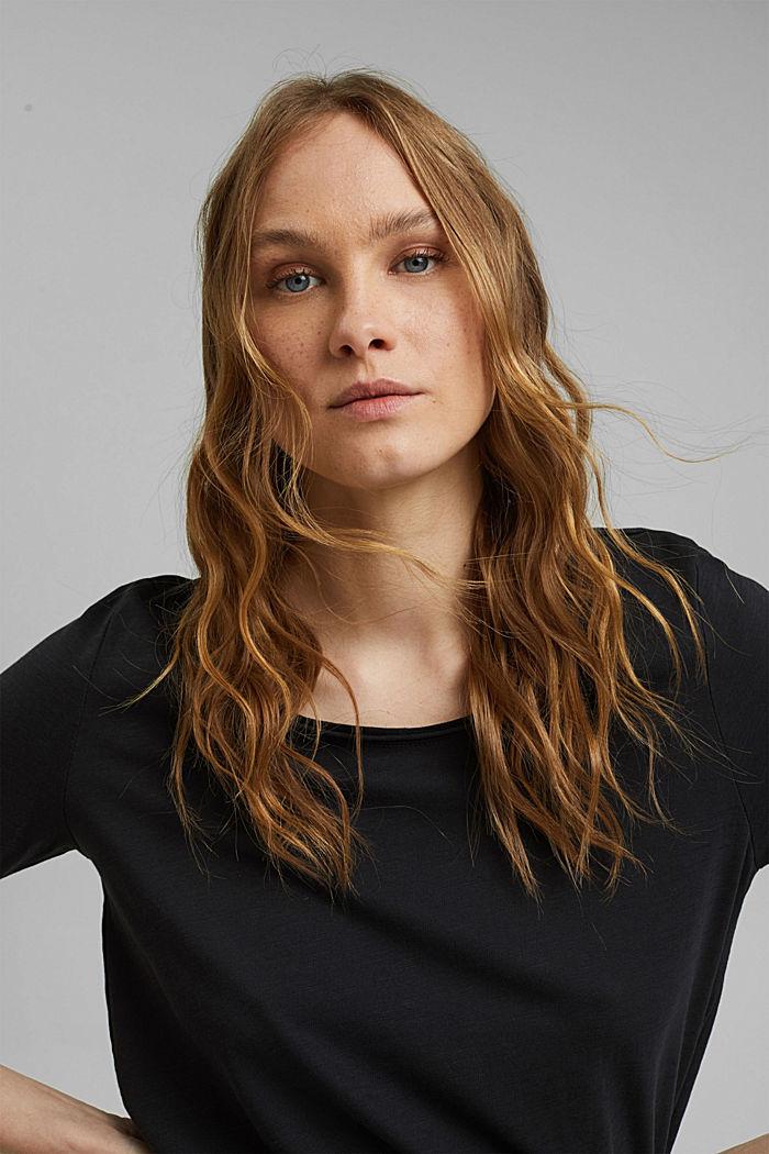 Camiseta en 100% algodón ecológico