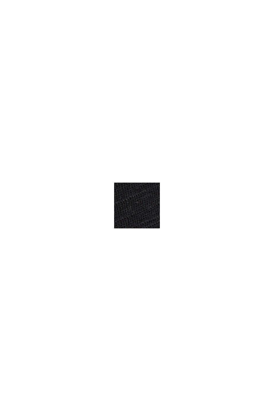 Camiseta en 100% algodón ecológico, BLACK, swatch