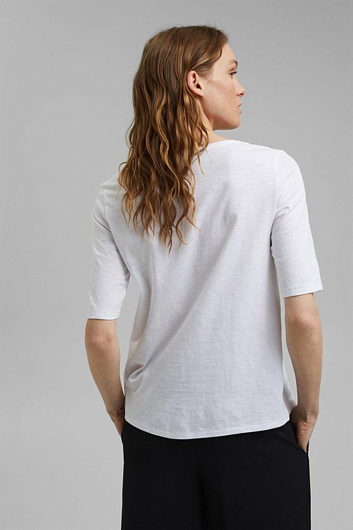 T-shirt made of 100% organic cotton, WHITE, detail image number 3