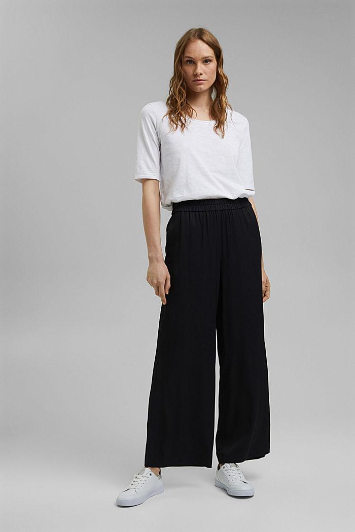 T-shirt made of 100% organic cotton, WHITE, detail image number 1