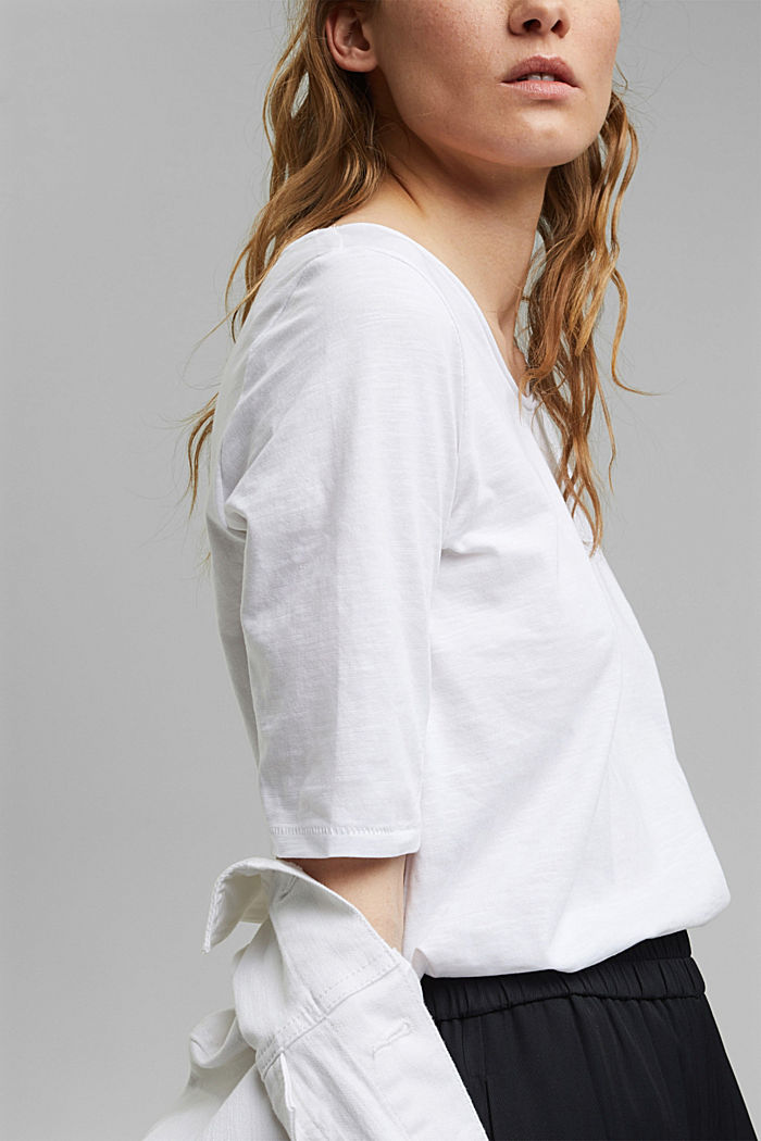 T-shirt made of 100% organic cotton, WHITE, detail image number 2