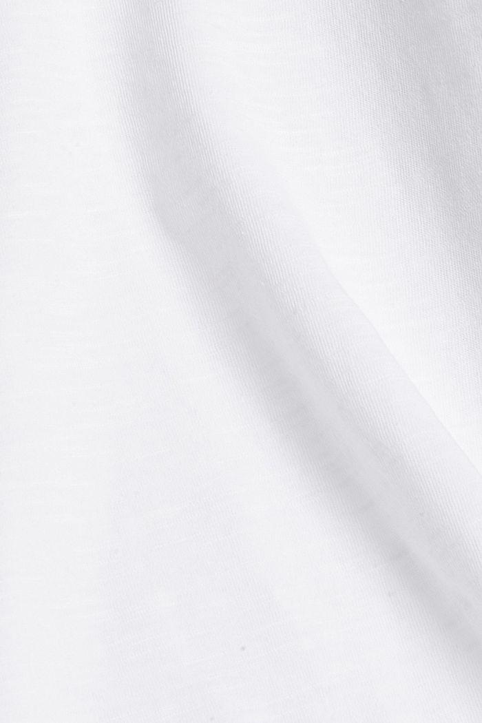 T-shirt made of 100% organic cotton, WHITE, detail image number 4