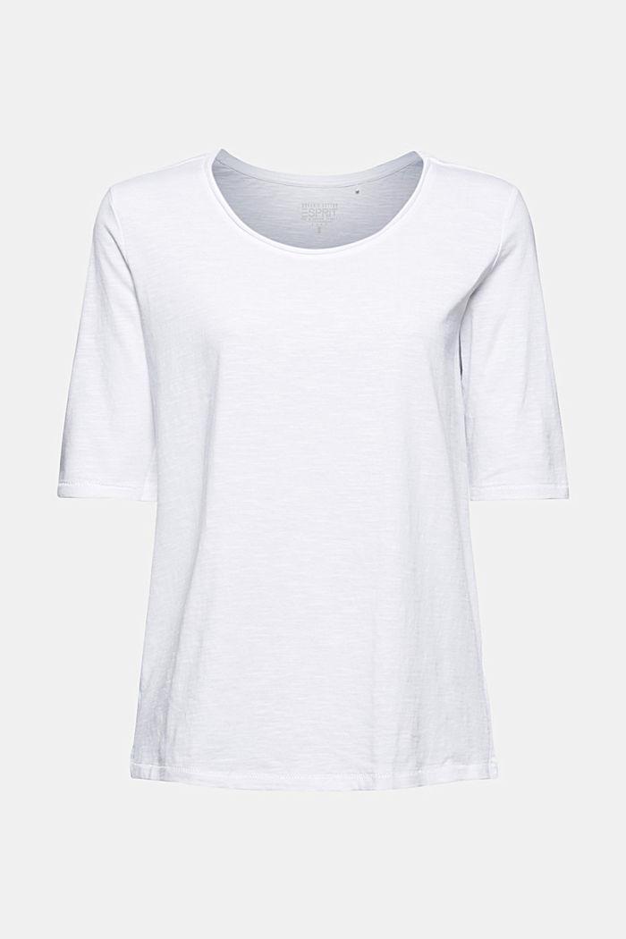 T-shirt made of 100% organic cotton, WHITE, detail image number 5