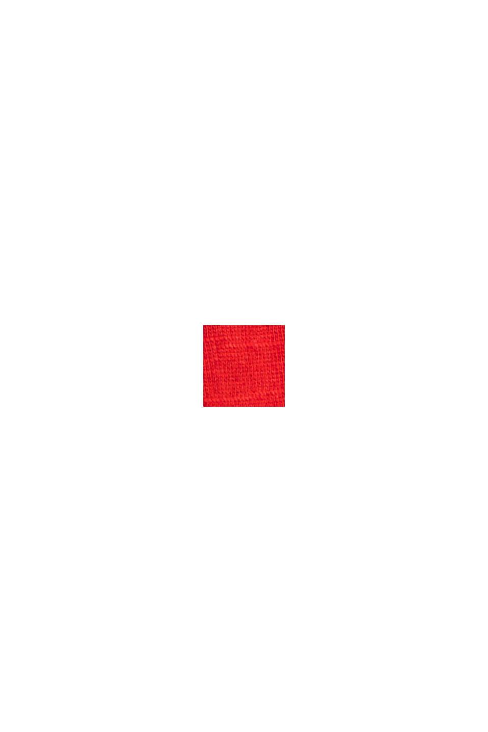 Camiseta en 100% algodón ecológico, RED, swatch