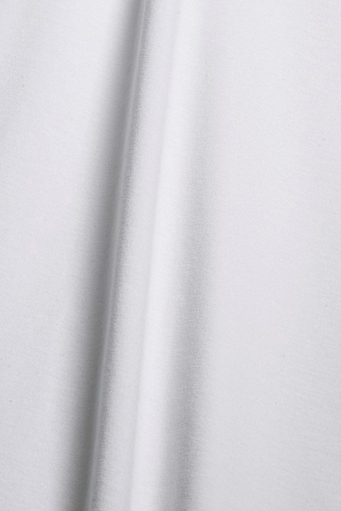 Débardeur en coton biologique/stretch, WHITE, detail image number 4