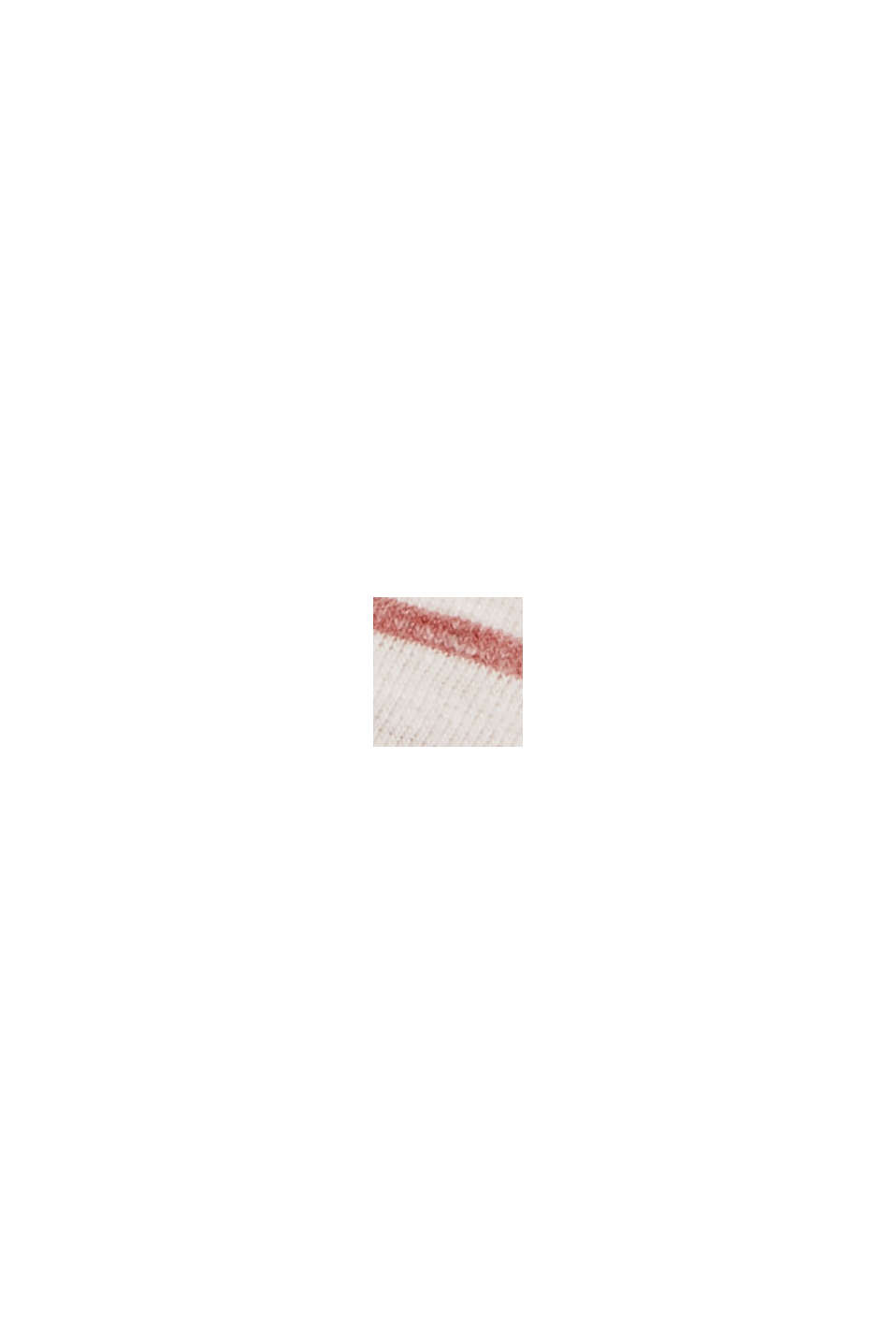 CURVY Recycelt: Longsleeve mit Streifen, RED, swatch