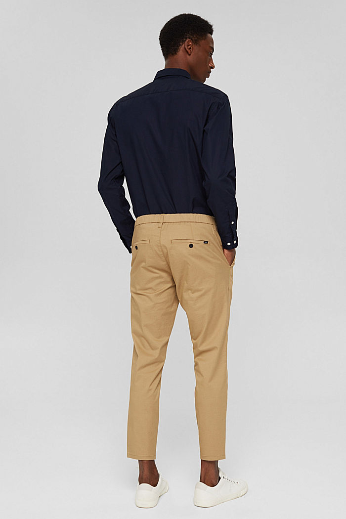 Trousers, BEIGE, detail image number 3