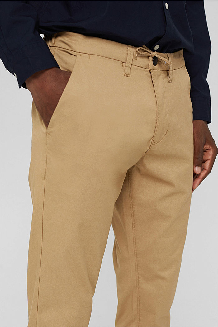 Trousers, BEIGE, detail image number 2