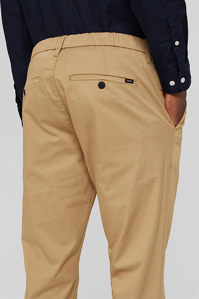 Trousers, BEIGE, detail image number 5