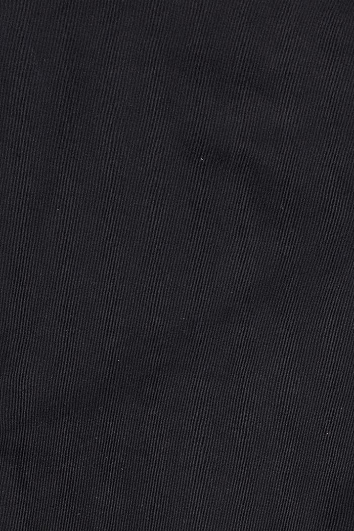 Cargo-Hose aus Bio-Baumwolle/Stretch, BLACK, detail image number 4