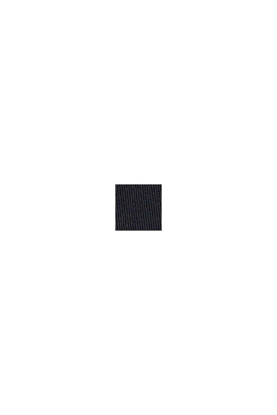 Cargobroek van biologisch katoen/stretch, BLACK, swatch