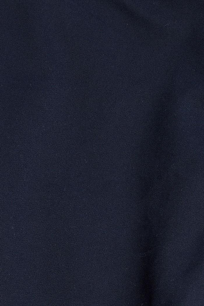 Cargo-Hose aus Bio-Baumwolle/Stretch, NAVY, detail image number 4