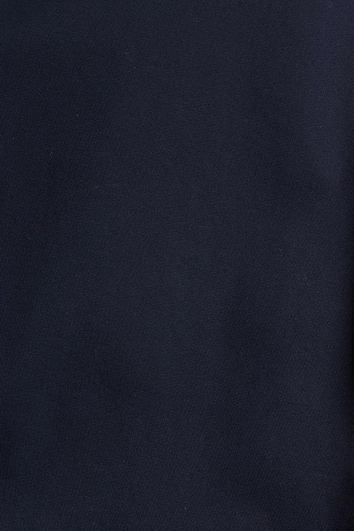 Chino aus Bio-Baumwolle mit Schlüsselring, NAVY, detail image number 4