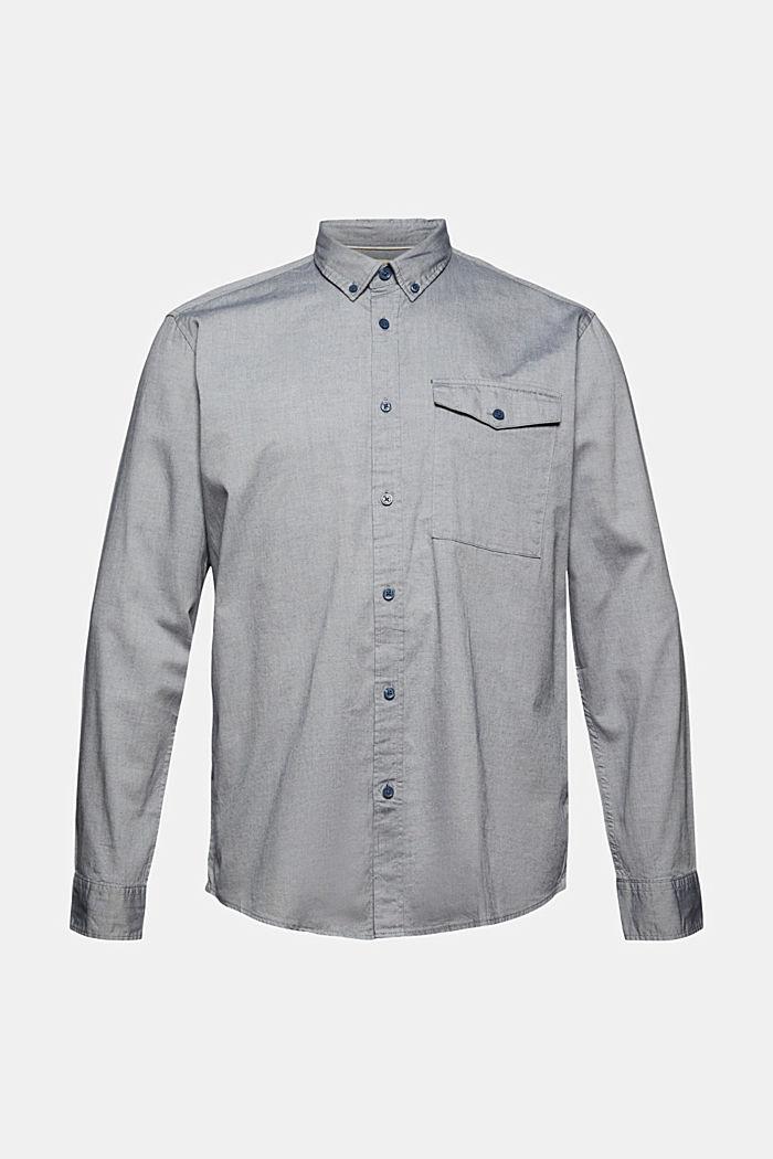 Camicia button-down in 100% cotone
