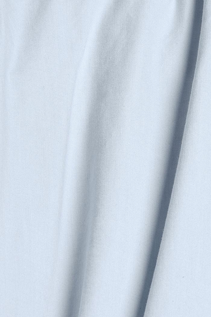 Button-Down-Hemd aus 100% Baumwolle, LIGHT BLUE, detail image number 4