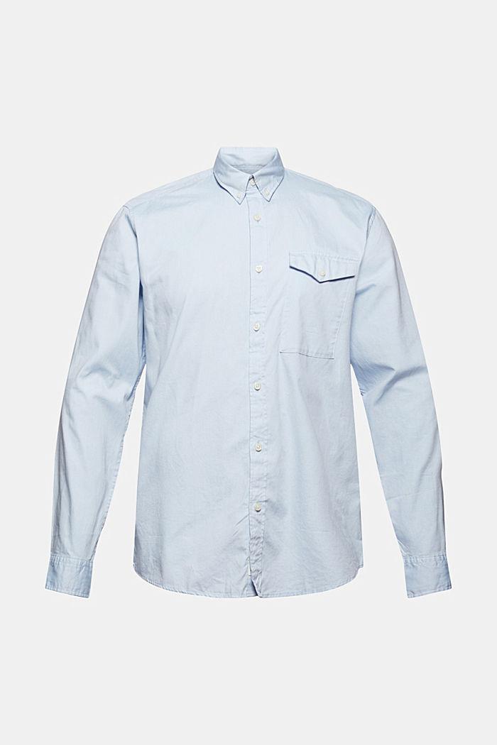 Button-Down-Hemd aus 100% Baumwolle