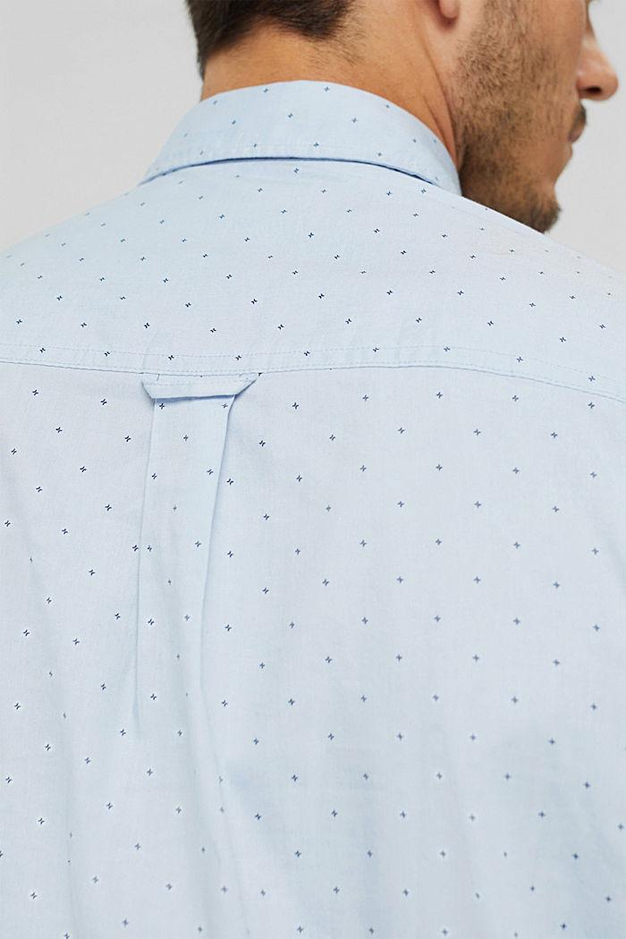 Vzorovaná košile, 100% bavlna, LIGHT BLUE, detail image number 5