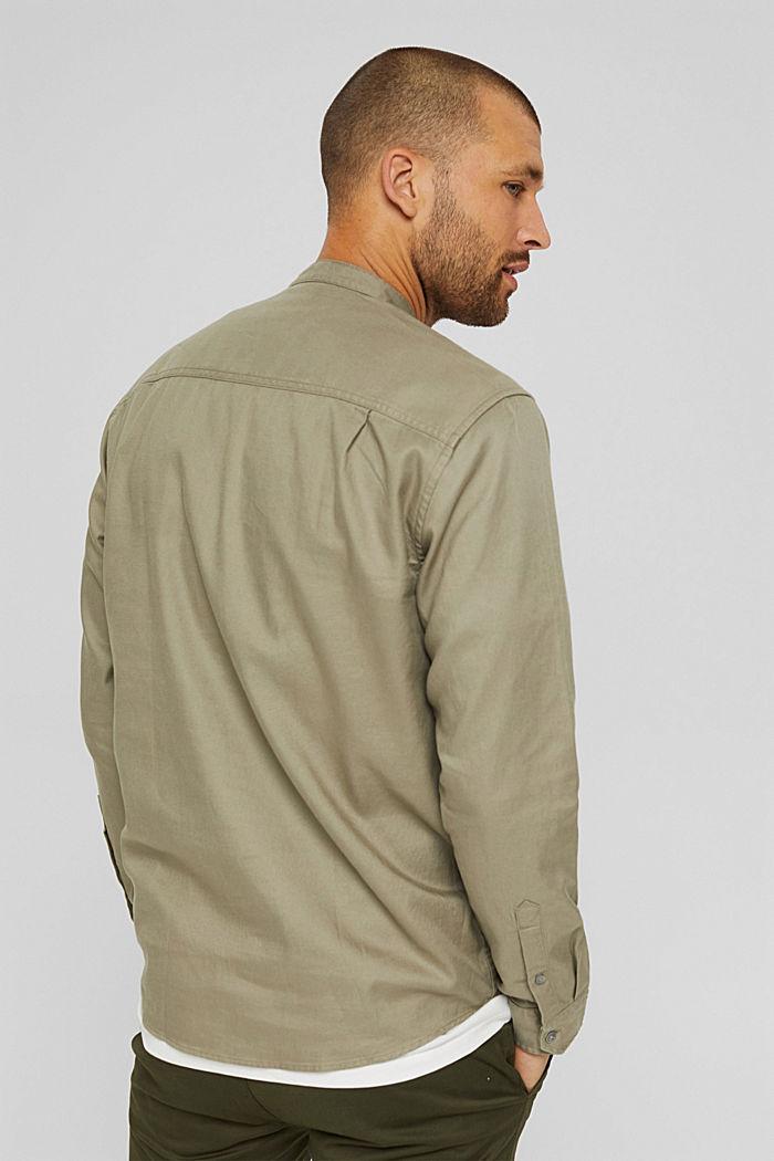 Woven Shirt, PALE KHAKI, detail image number 3