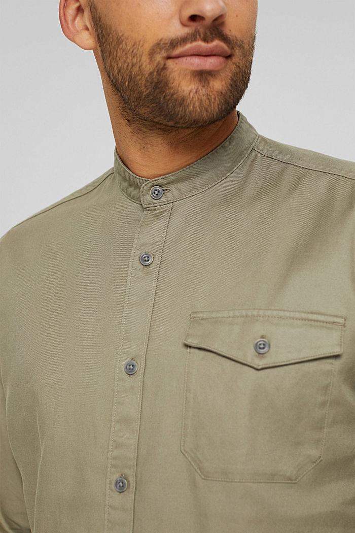Woven Shirt, PALE KHAKI, detail image number 2