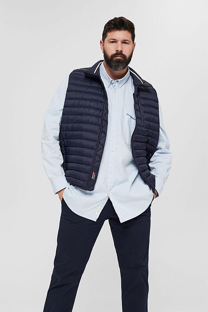 Chemise à col boutonné et poche à rabat, 100% coton, LIGHT BLUE, detail image number 5