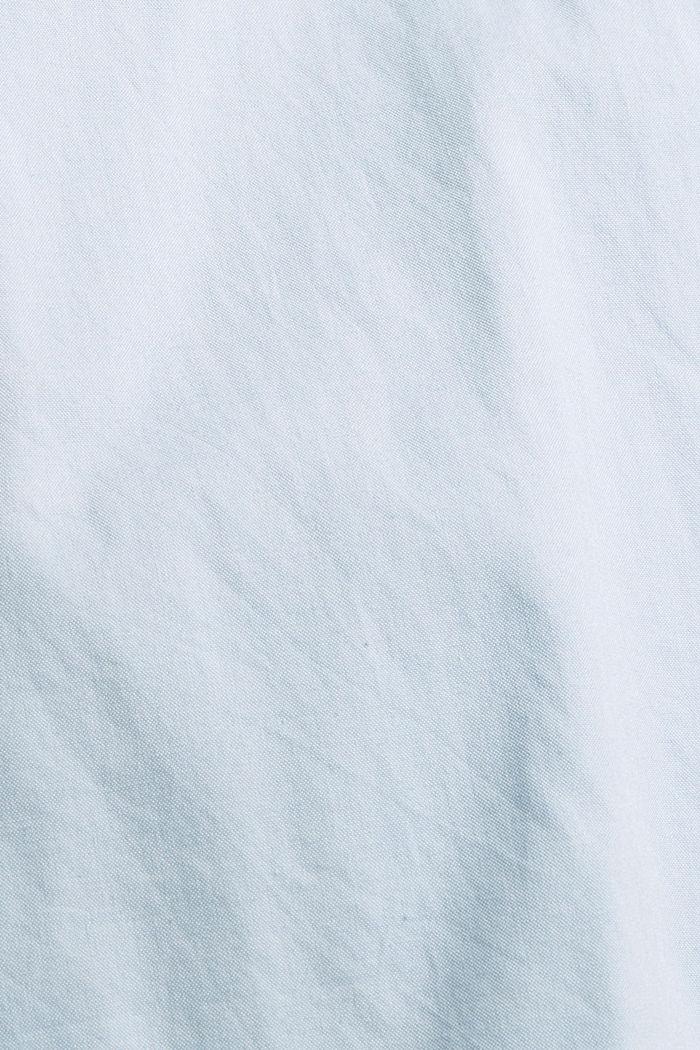 Chemise à col boutonné et poche à rabat, 100% coton, LIGHT BLUE, detail image number 4