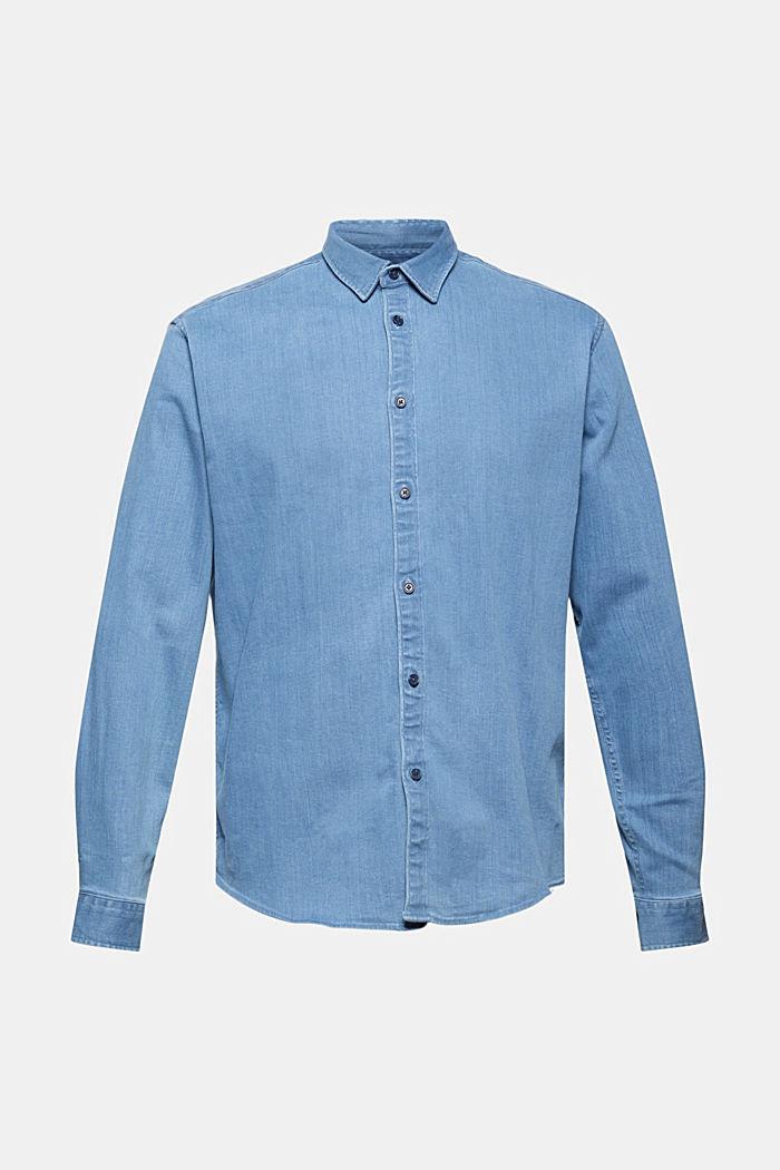Džínová košile ze směsi s bavlnou
