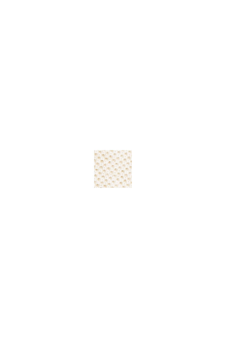 Piqué T-shirt made of 100% organic cotton, BEIGE, swatch