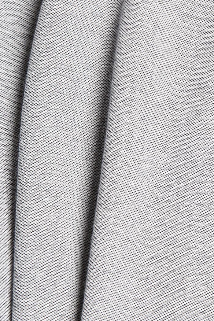 T-shirt en maille piquée, 100% coton bio, NAVY, detail image number 4