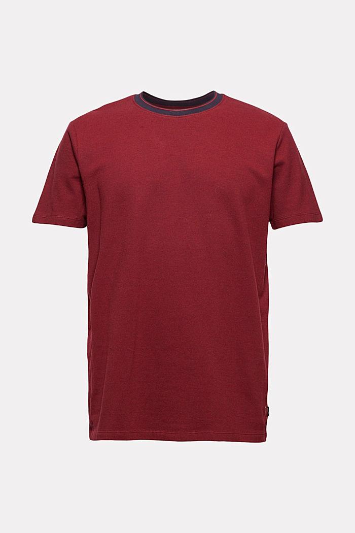 Piqué T-shirt made of 100% organic cotton