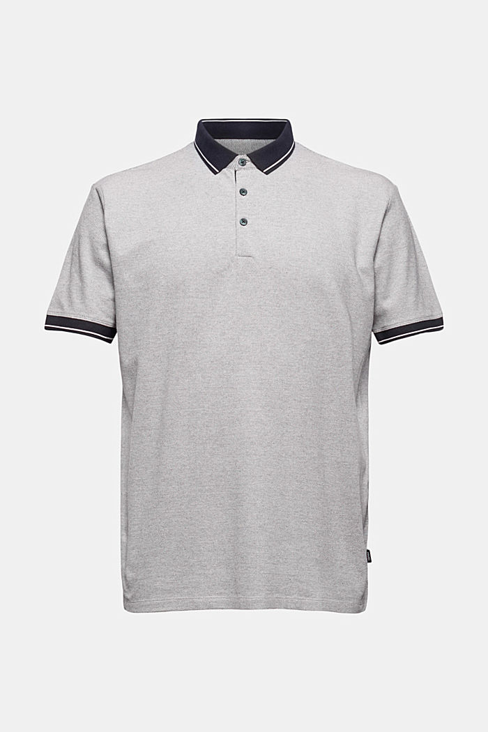 Piequé-Polo aus 100% Bio-Baumwolle