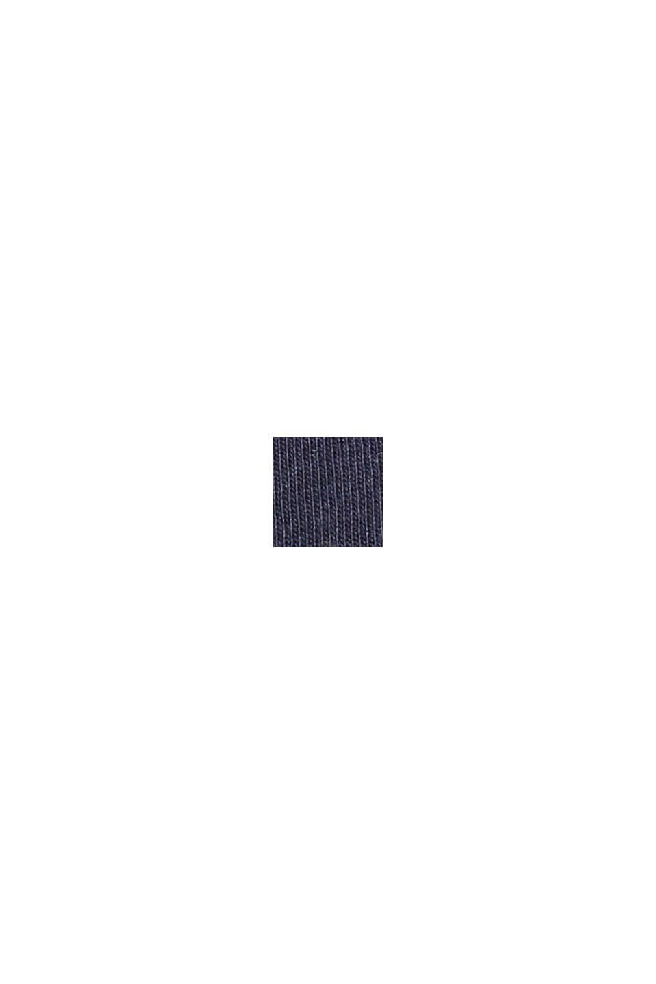 Valokuvapainettu jersey-T-paita, luomupuuvillaa, NAVY, swatch