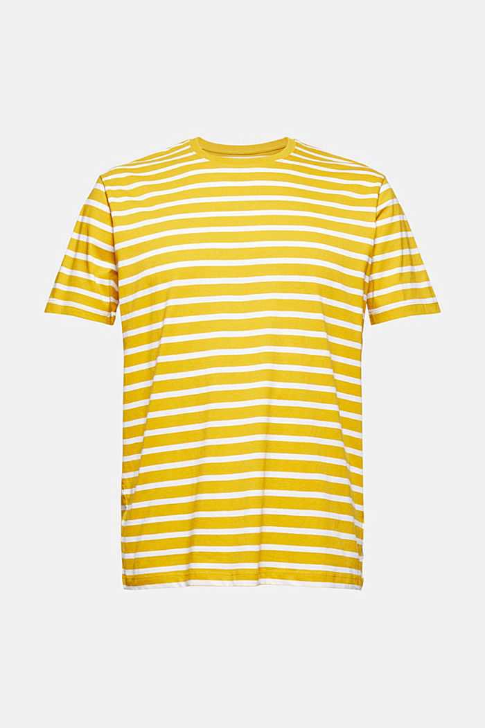 Striped T-shirt made of 100% organic cotton