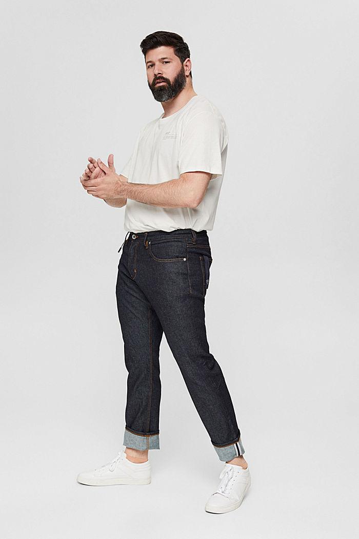 Camiseta de jersey con estampado, 100 % algodón ecológico, OFF WHITE, detail image number 6